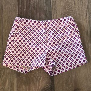 Crewcuts Blue and Pink Patterned Adjustable Shorts